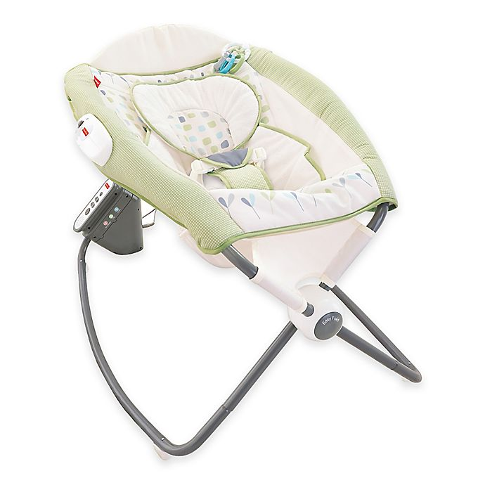 Alternate image 1 for Fisher-Price® Deluxe Newborn Auto Rock 'n Play™ Sleeper in Geo Dream