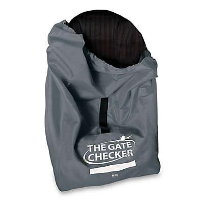 Nuby™ Car Seat Gate Checker Bag in Grey