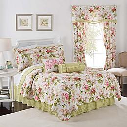 Waverly® Emma's Garden Reversible Quilt Set in Blossom