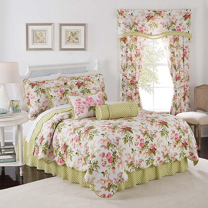 Alternate image 1 for Waverly® Emma's Garden Reversible Quilt Set in Blossom