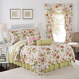 Waverly® Emma's Garden Reversible Quilt Set in Blossom