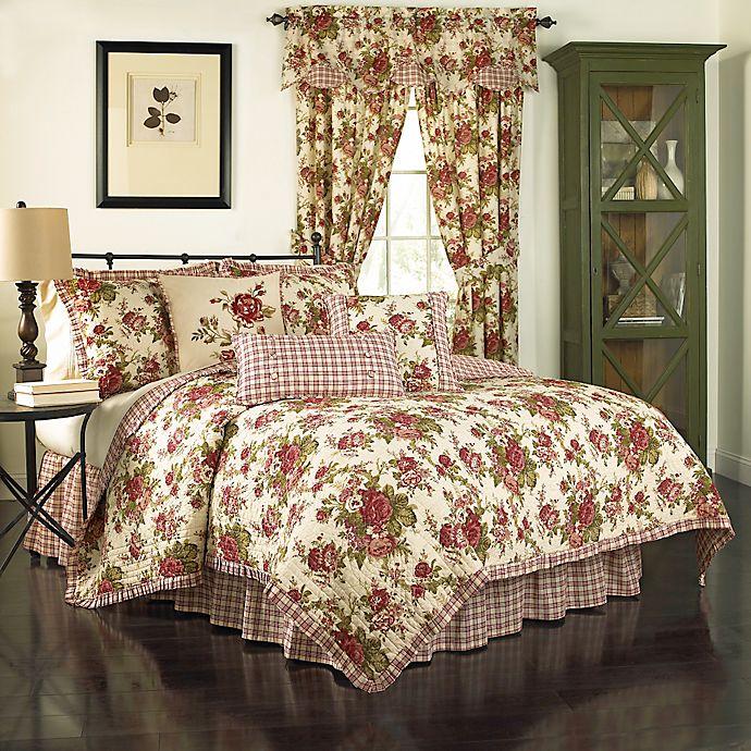 Alternate image 1 for Waverly® Norfolk Reversible Quilt Set