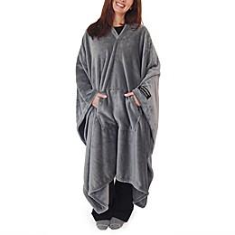 THROWBEE by Kona Benellie® Luxury Throw Blanket/Poncho