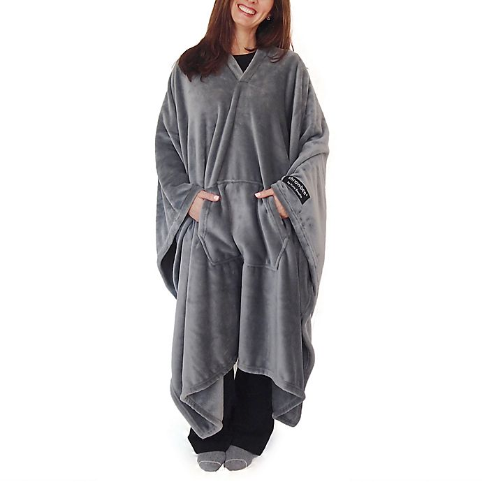 Alternate image 1 for THROWBEE by Kona Benellie® Luxury Throw Blanket/Poncho