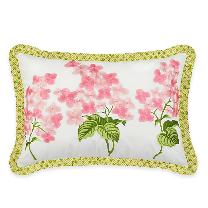 Alternate image 1 for Waverly® Emma's Garden Oblong Throw Pillow in Blossom