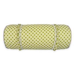 Waverly® Emma's Garden Neckroll Throw Pillow in Green