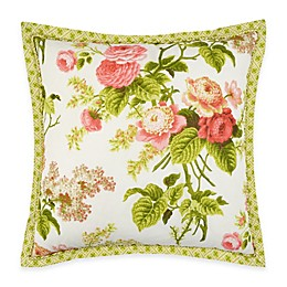 Waverly® Emma's Garden Square Throw Pillow in Blossom
