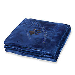 Kona Pet Throw Blanket in blue by Kona Benellie®