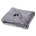 Kona Pet Throw Blanket  in Grey by Kona Benellie®
