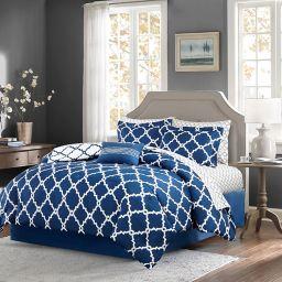 Madison Park Essentials Merritt 9-Piece Reversible Comforter Set