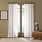 Cambria® Terra 84-Inch Rod Pocket Sheer Window Curtain Panel in Off White