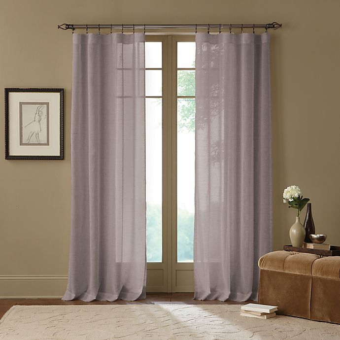 Alternate image 1 for Cambria® Terra X-Inch Rod Pocket Sheer Window Curtain Panel