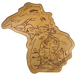 Totally Bamboo® MEGA Michigan Destination Cutting/Serving Board