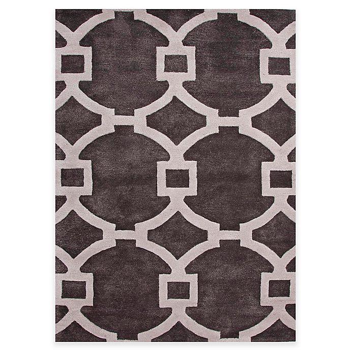 Alternate image 1 for Jaipur Regency 9-Foot 6-Inch x 13-Foot 6-Inch Area Rug in Ivory/Dark Grey