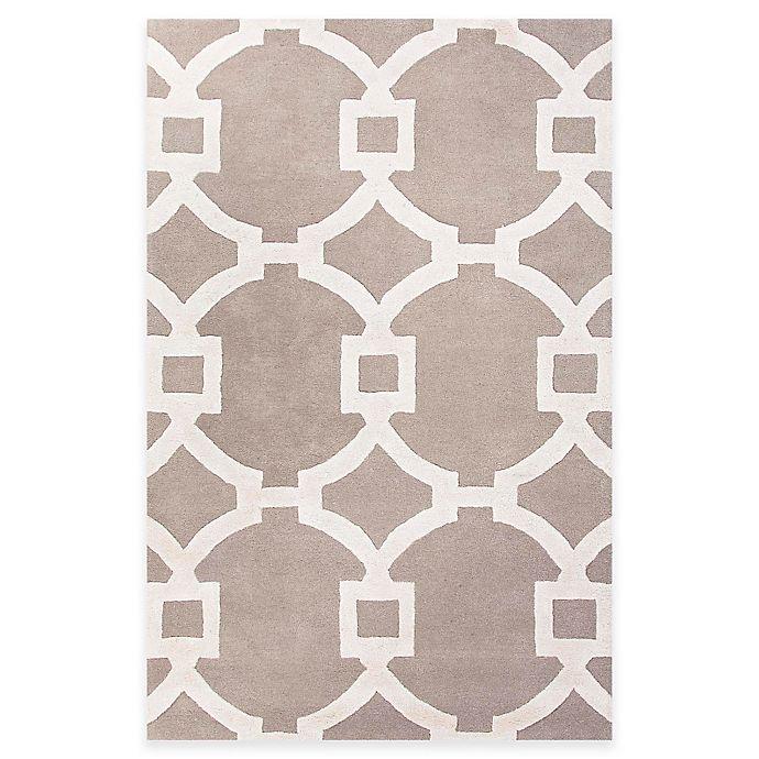 Alternate image 1 for Jaipur Regency 9-Foot 6-Inch x 13-Foot 6-Inch Area Rug in Ivory/Grey