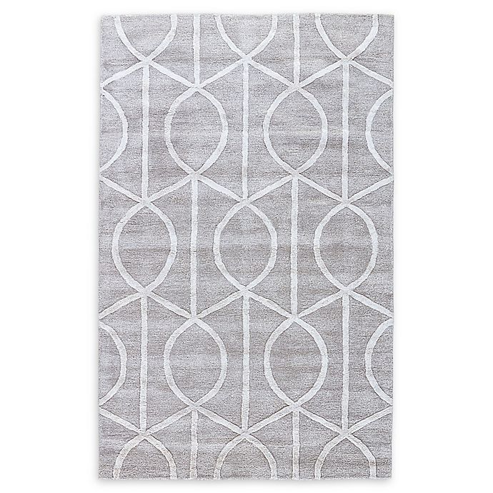 Alternate image 1 for Jaipur City Seattle 9-Foot 6-Inch x 13-Foot 6-Inch Area Rug in Light Grey