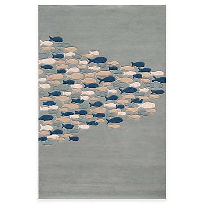 Jaipur Coastal Resort Schooled Hand-Tufted Rug