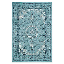 Safavieh Evoke Collection Mirza 4-Foot x 6-Foot Area Rug in Light Blue