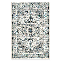 Safavieh Evoke Collection Mirza 5-Foot 1-Inch x 7-Foot 6-Inch Area Rug in Grey/Ivory