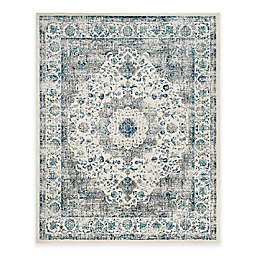 Safavieh Evoke Collection Mirza 9-Foot x 12-Foot Area Rug in Grey/Ivory