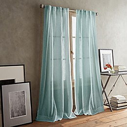DKNY Paradox 2-Pack Rod Pocket/Back Tab Sheer Window Curtain Panels