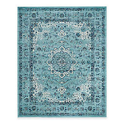 Safavieh Evoke Collection Mirza 9-Foot x 12-Foot Area Rug in Light Blue