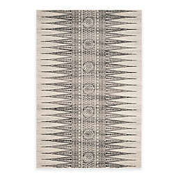 Safavieh Evoke Collection Tribal 4-Foot x 6-Foot Area Rug in Ivory/Grey