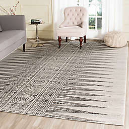 Safavieh Evoke Collection Tribal 8-Foot x 10-Foot Area Rug in Ivory/Grey
