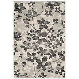 Safavieh Evoke Collection Flora 9-Foot x 12-Foot Area Rug in Grey/Black