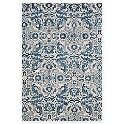 Safavieh Evoke Collection Grove 6-Foot 7-Inch x 9-Foot Area Rug in Ivory/Blue