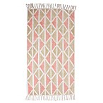 Thro Jeryl Rose 2-Foot 3-Inch x 3-Foot 4-Inch Accent Rug in Pink