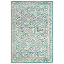 Safavieh Evoke Collection Jade 5-Foot 1-Inch x 7-Foot 6-Inch Area Rug in Ivory/Light Blue