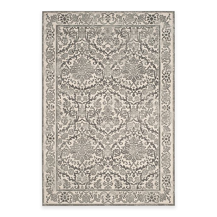 Alternate image 1 for Safavieh Evoke Collection Jade 6-Foot 7-Inch x 9-Foot Area Rug in Ivory/Grey