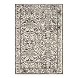 Safavieh Evoke Collection Jade 6-Foot 7-Inch x 9-Foot Area Rug in Ivory/Grey