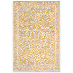 Safavieh Evoke Collection Jade 9-Foot x 12-Foot Area Rug in Ivory/Gold