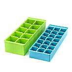 Kikkerland® Design Stackable Ice Trays (Set of 2)