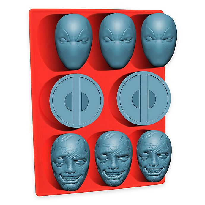 Alternate image 1 for Marvel® Deadpool Silicone Mold Tray