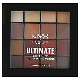 NYX Professional Makeup 0.02 oz. Ultimate Shadow Palette in Warm Neutrals