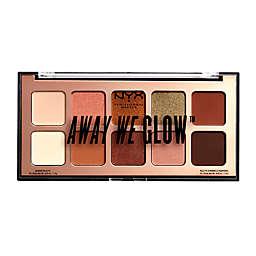 NYX Professional Makeup Away We Glow™ Eye Shadow Palette in Hooked On Glow