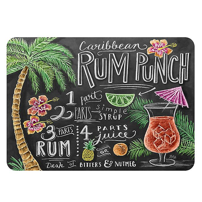 Alternate image 1 for The Softer Side by Weather Guard™ Rum Punch Kitchen Mat
