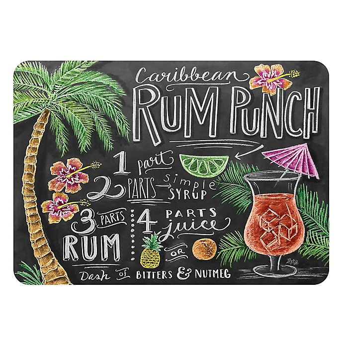 Alternate image 1 for The Softer Side by Weather Guard™ 23-Inch x 36-Inch Rum Punch Kitchen Mat