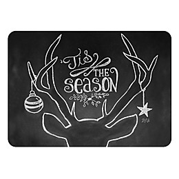 The Softer Side by Weather Guard™ Tis the Season Deer Kitchen Mat