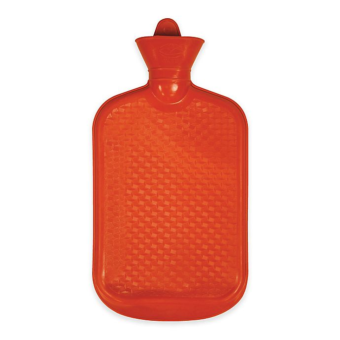 Alternate image 1 for Hot Water Bottle in Red