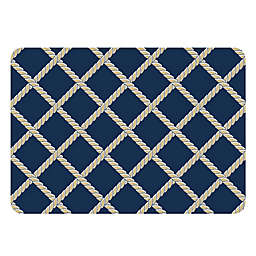 The Softer Side by Weather Guard™ Nautical Rope Kitchen Mat