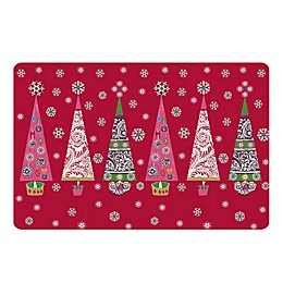 The Softer Side by Weather Guard™ Ornate Trees Kitchen Mat