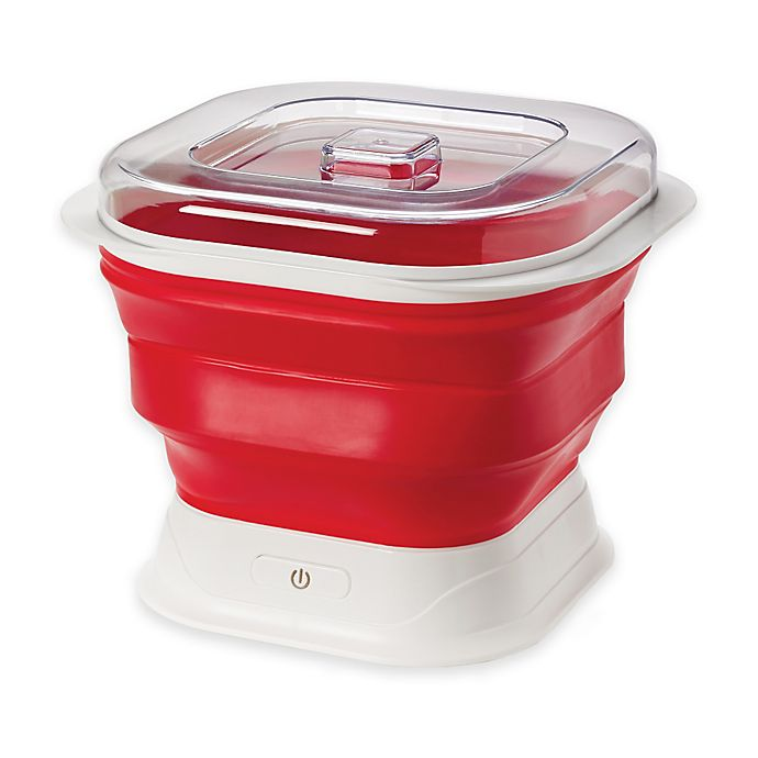 Alternate image 1 for Cuisipro Collapsible Yogurt Maker