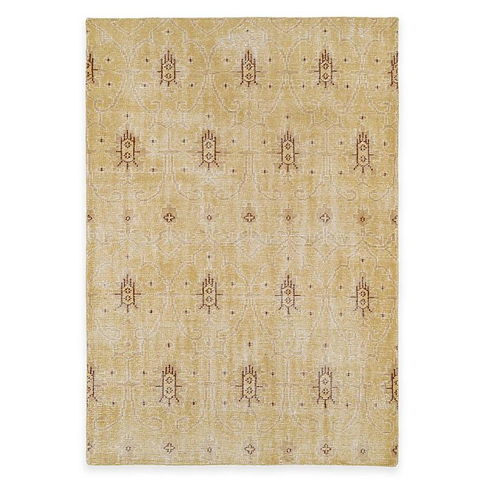 Alternate image 1 for Kaleen Restoration Curio 8-Foot x 10-Foot Area Rug in Gold