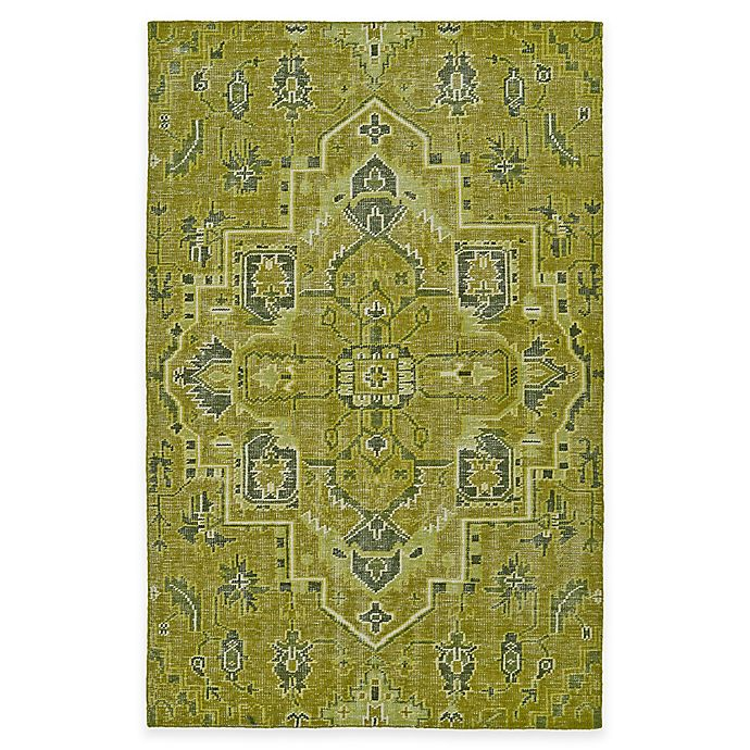 Alternate image 1 for Kaleen Relic Medallion 2-Foot x 3-Foot Accent Rug in Green