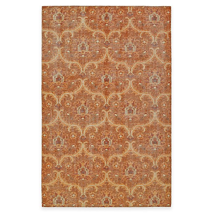 Alternate image 1 for Kaleen Relic Portia 2-Foot x 3-Foot Accent Rug in Paprika