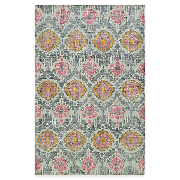 Alternate image 1 for Kaleen Relic Ikat 2-Foot x 3-Foot Accent Rug in Grey